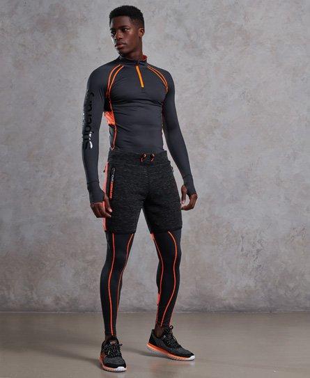 Superdry Haut avec demi-fermeture zippée Bionic