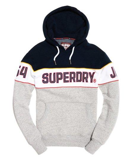 Superdry Retro Hoodie mit Streifen