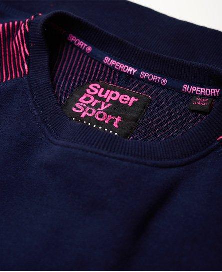 Superdry Sweat shirt col rond Flex Tops pour Femme