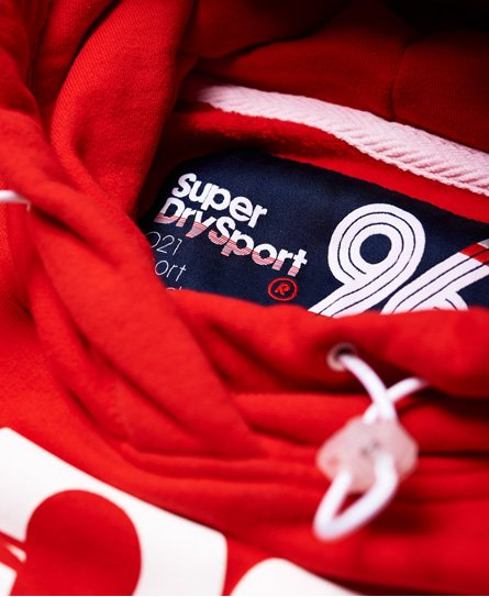 Superdry Sports 021 Crop Hoodie