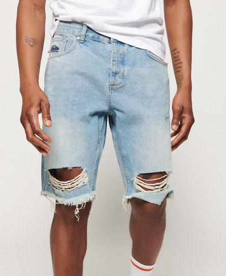 Loose Denim Shorts74963