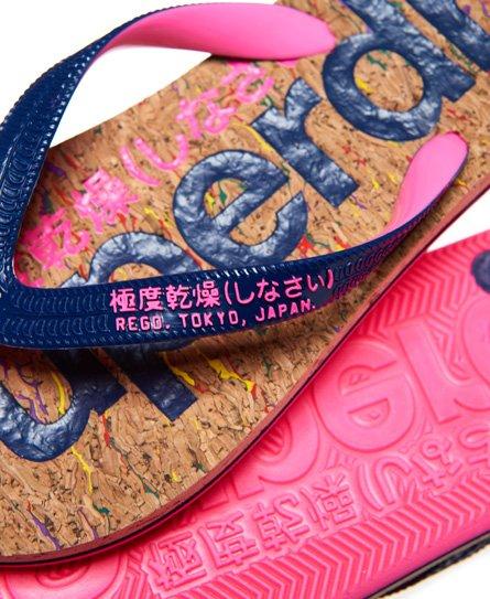 Superdry Kork flip-flop-sandaler