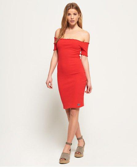 f2ad2be6 Superdry Harper Bardot-kjole - Dame Kjoler