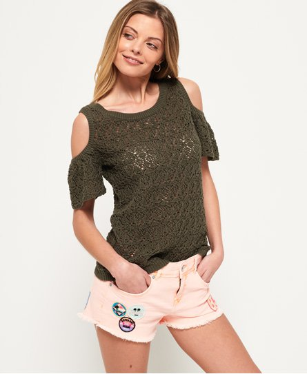Superdry Little Bay Cold Shoulder Top