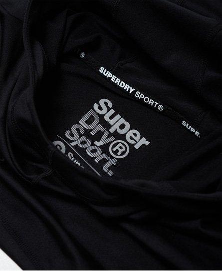 Superdry SD Sport Crop Hoodie