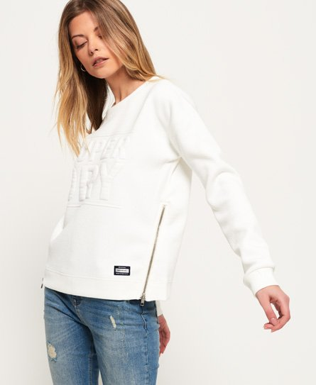 3D Boxy Sweat-topp