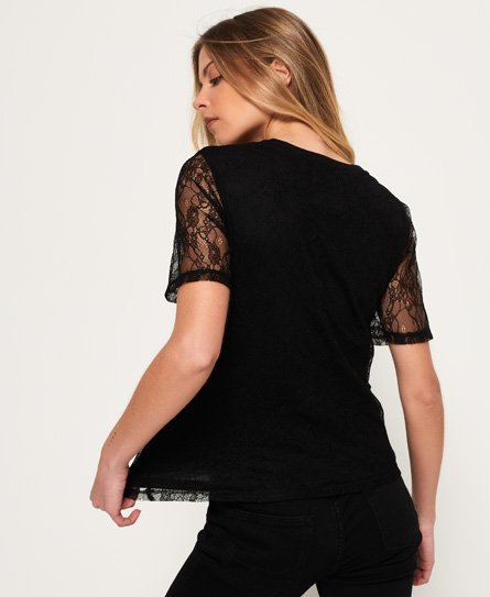 Superdry Lace Graphic T-shirt