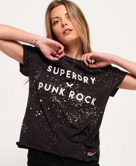 Superdry Splatter Knot T-shirt