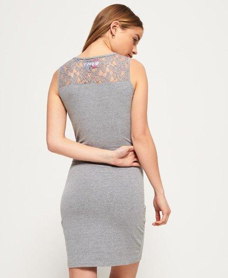 Superdry Lace Trim-kjole