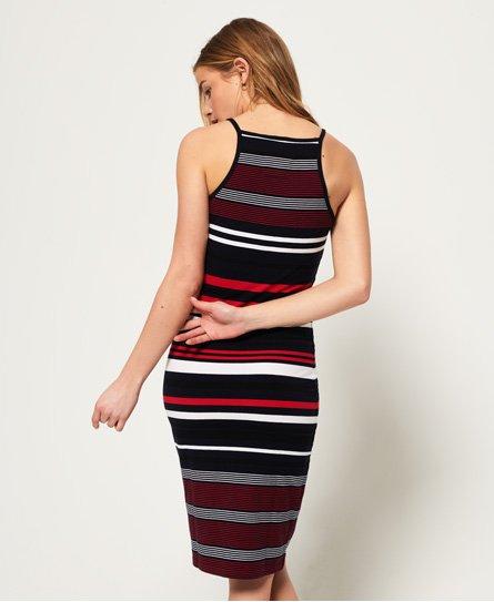 Superdry Strappy Stripe-midikjole