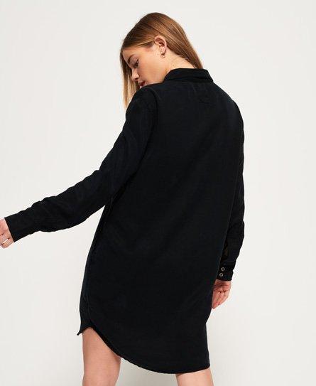 Superdry Robe chemise en lyocell oversize