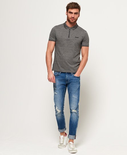 Superdry City Sport Zip Polo Shirt