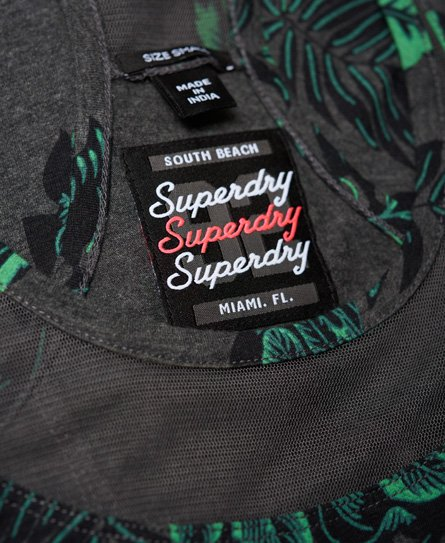Superdry Mesh Yoke Dress