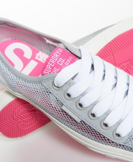 Superdry Zapatillas deportivas de caña baja de malla
