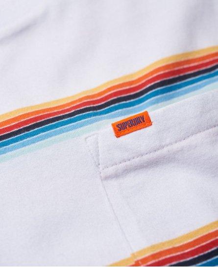 Superdry Orange Label Cali Surf Stripe T-Shirt