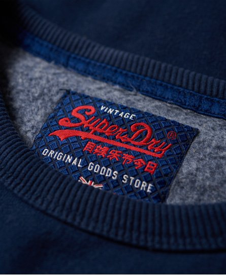 Superdry Vintage Logo Panel Sweatshirt