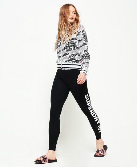 Superdry Legging sport thermosoudé