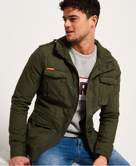 men s military jackets camo field army coats superdry