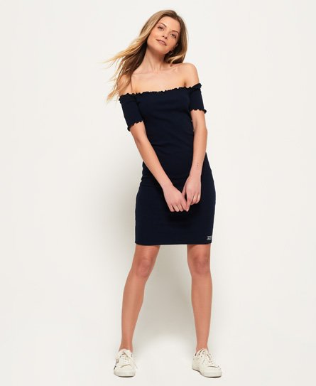 Superdry Harper Bardot-Kleid