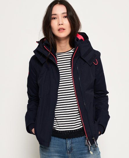 Superdry Pop Arctic SD-Windcheater vindjacka med huva och dragkedja