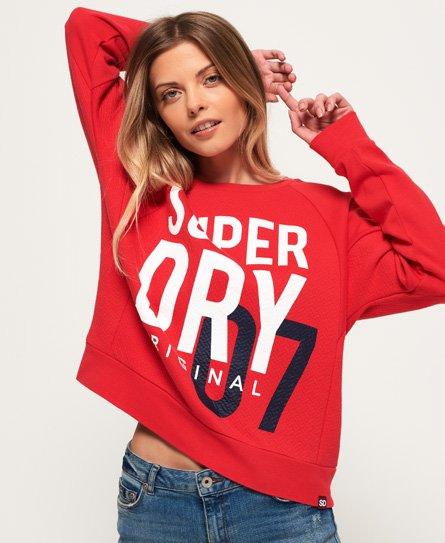 Superdry SD Dimensional sweatshirt met ronde hals en inzetstukken