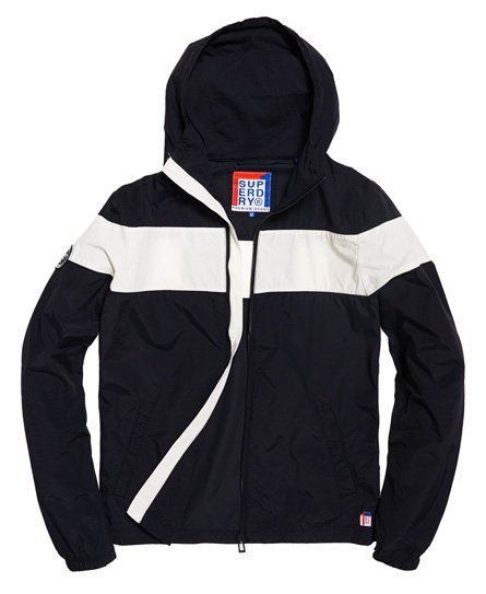 fa39d0e3 Mens - Dock Jacket in Navy/white | Superdry