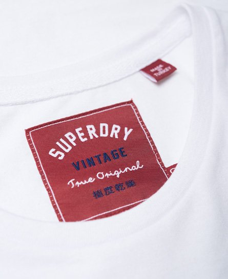 Superdry T-shirt Bonded Denim