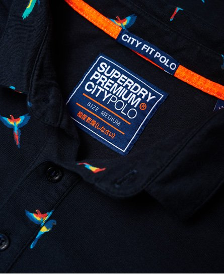 Superdry City All Over Print Polo Shirt