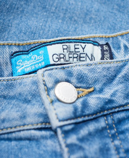 Superdry Jean Riley Girlfriend