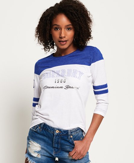 Superdry Low Tide Baseball Top