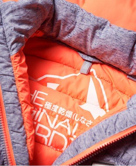 Superdry Fuji slim-vest med dobbel glidelås
