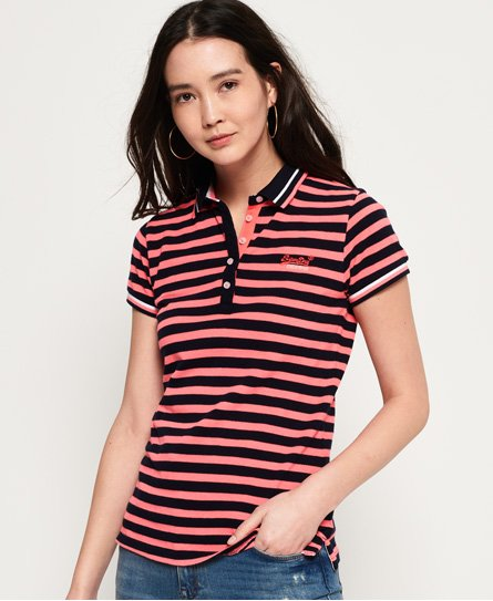 Superdry Pacific Stripe Polo Shirt