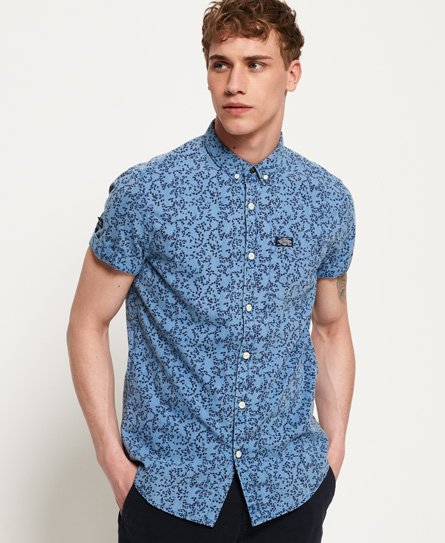 Superdry Homestead Loom Short Sleeve Shirt