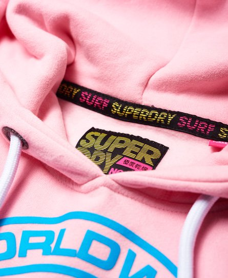 Superdry World Wide Ticket Type Hoodie