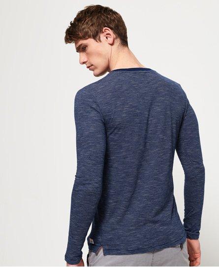 Superdry Lite Loom Clayton Stripe Long Sleeve T-Shirt