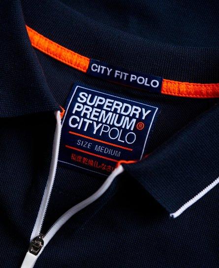 Superdry City Sport Zip Polo Shirt