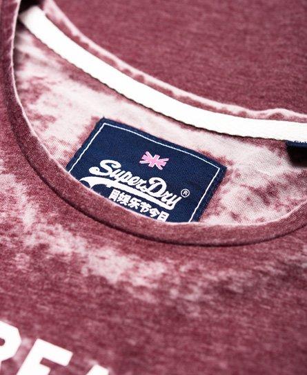 Superdry T-shirt Vintage Logo Burnout