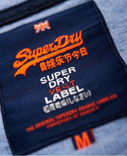 Superdry Vintage Authentic Embossed Print Vest Top