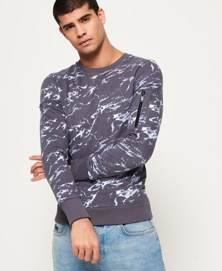 Superdry Premium sweatshirt met all-over print