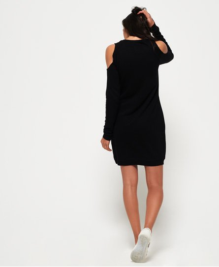 Superdry Miami Cold Shoulder Sweat Dress