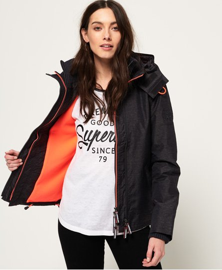 Superdry Veste à capuche Pop Zip Arctic SD-Windcheater