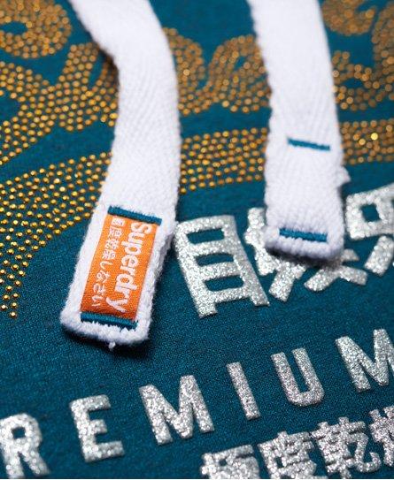 Superdry Premium Goods Rhinestone Hoodie