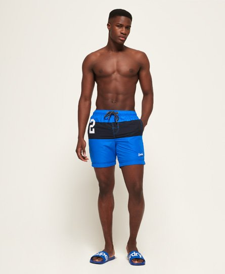 Superdry Water Polo Banner Swim Shorts