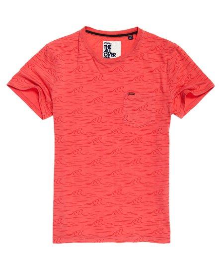 T-shirt coupe boyfriend slim Tiger Splatter - Superdry - Modalova