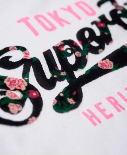 Superdry Heritage Flock T-Shirt