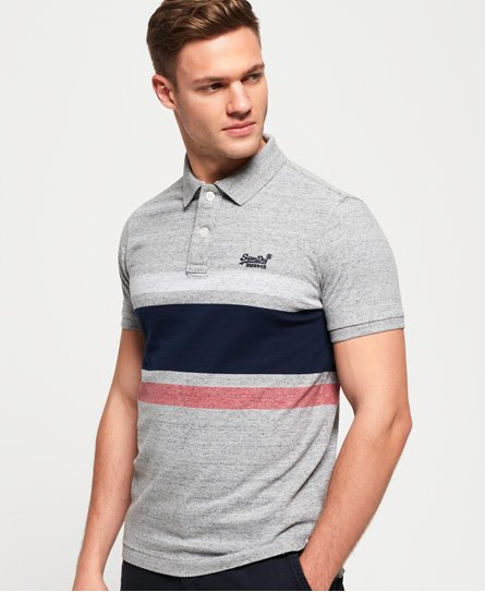 Superdry Classic Hardwick Stripe Polo Shirt