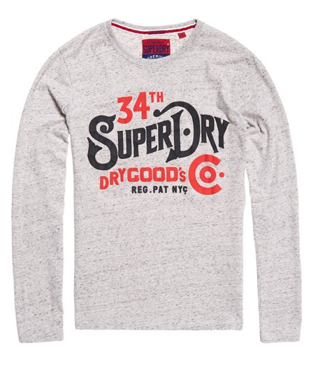 Superdry NYC Goods Co Long Sleeve T-Shirt