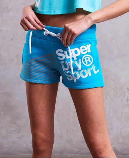 Superdry Womens Sport Diagonal Hot Shorts