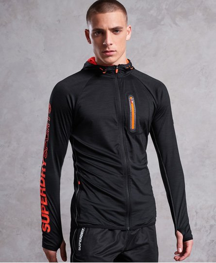 Superdry Athletic Panel Zip Hoodie