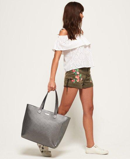 Superdry Elaina Lattice Tote Bag